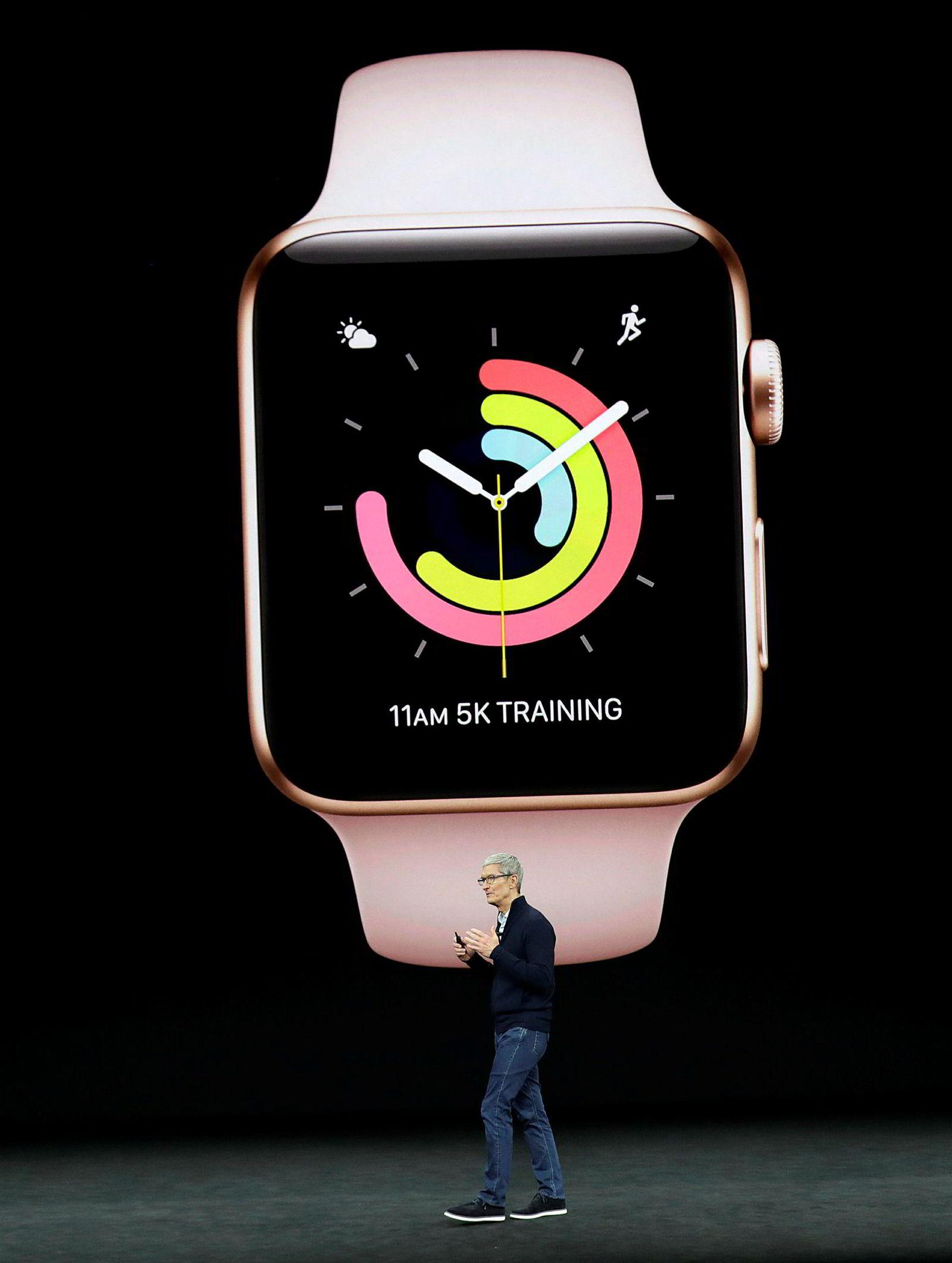 Apple Watch Series 3.