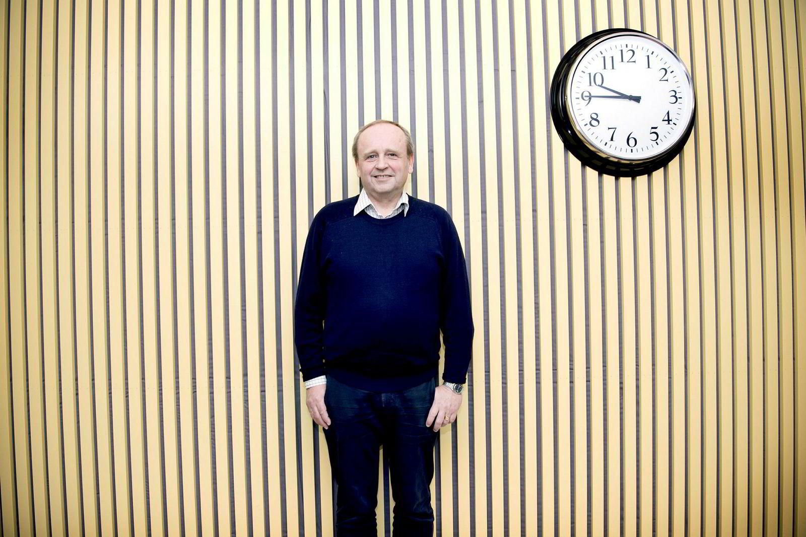 Forskningssjef Nils Martin Stølen i SSB.