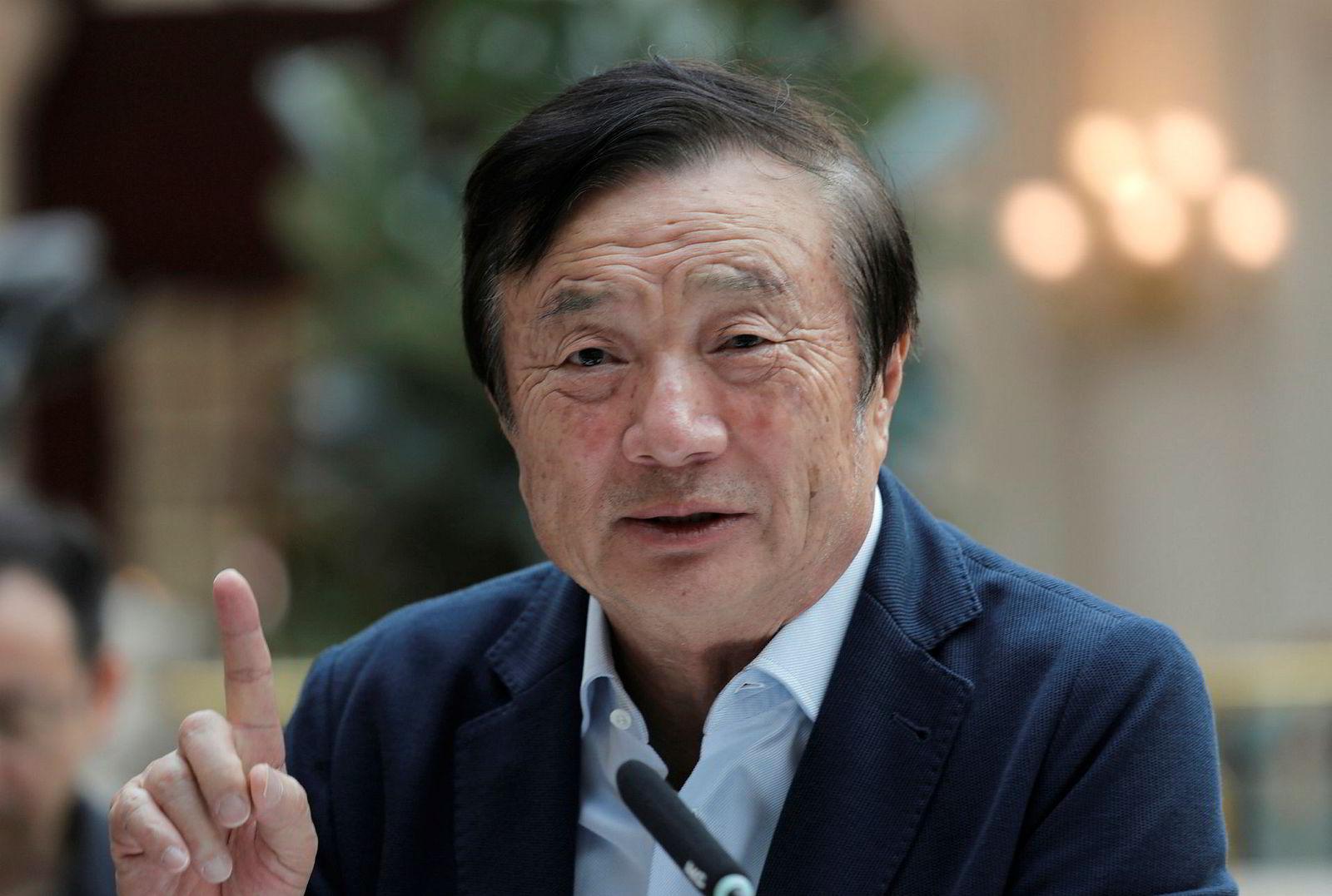 Enkelte amerikanske medier spekulerer i om det foreligger en hemmelig tiltale mot Huaweis grunnlegger Ren Zhengfei.