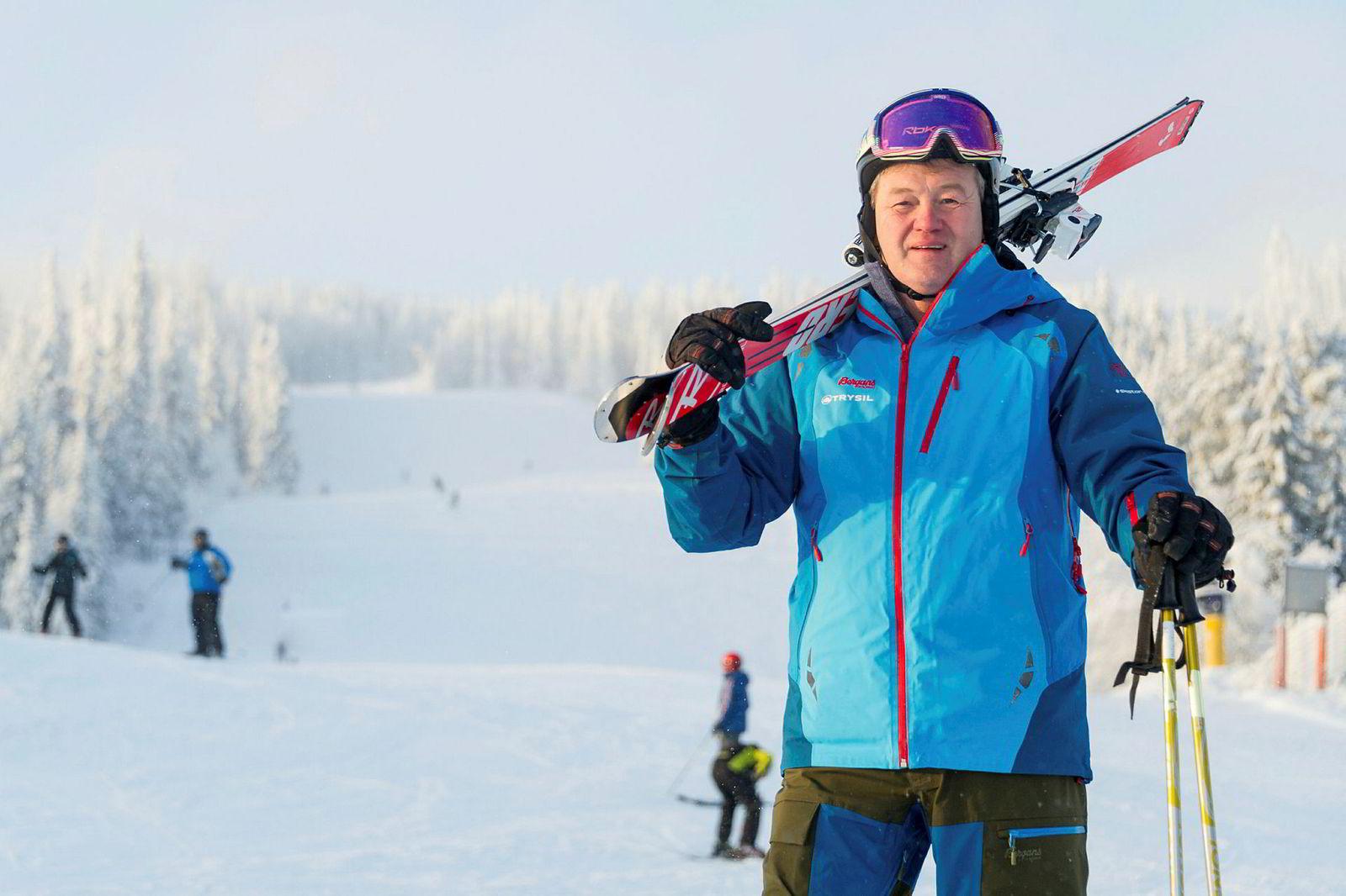 Direktør Bosse Halvardsson i alpinkonsernet Skistar på Trysil.