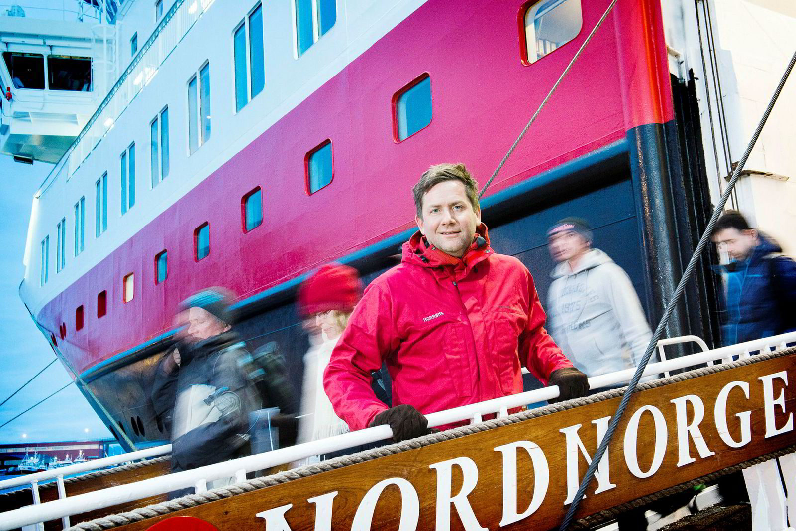 - Med Kleven som et av de fremste eksemplene, er norsk verftsindustri i verdensklasse, sier konsernsjef Daniel Skjeldam i Hurtigruten
