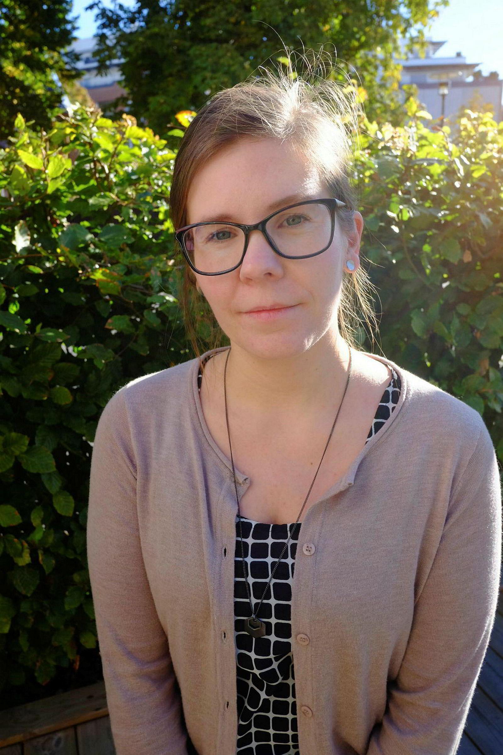 Ingrid Hjertaker, politisk rådgiver, i Tax Justice Network – Norge.