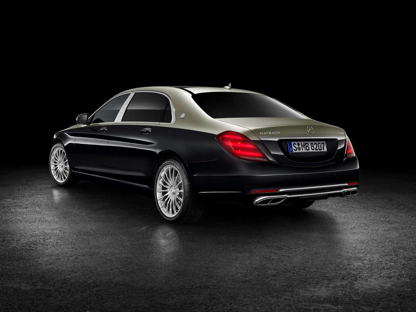 Den ultimate direktørbilen? Mercedes-Benz Maybach S 560.