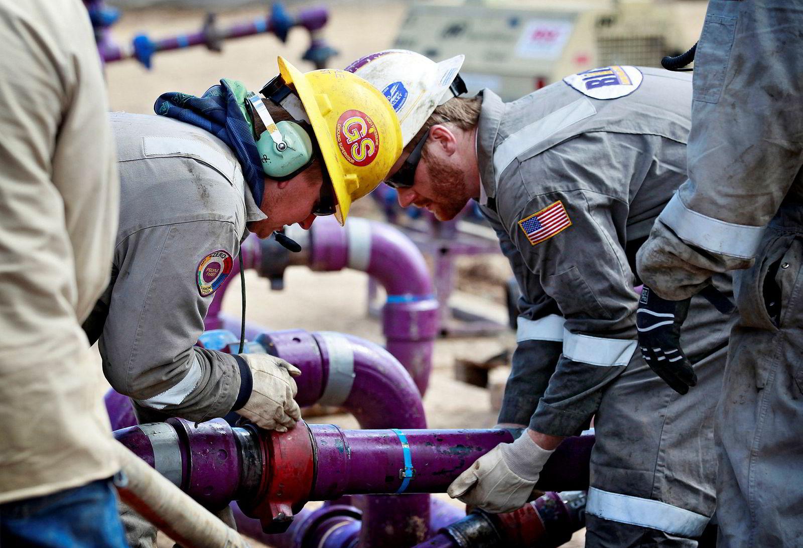 Donald Trump vil lette på kravene som ble satt til olje- og gassprodusentene under forgjengeren Barack Obama.