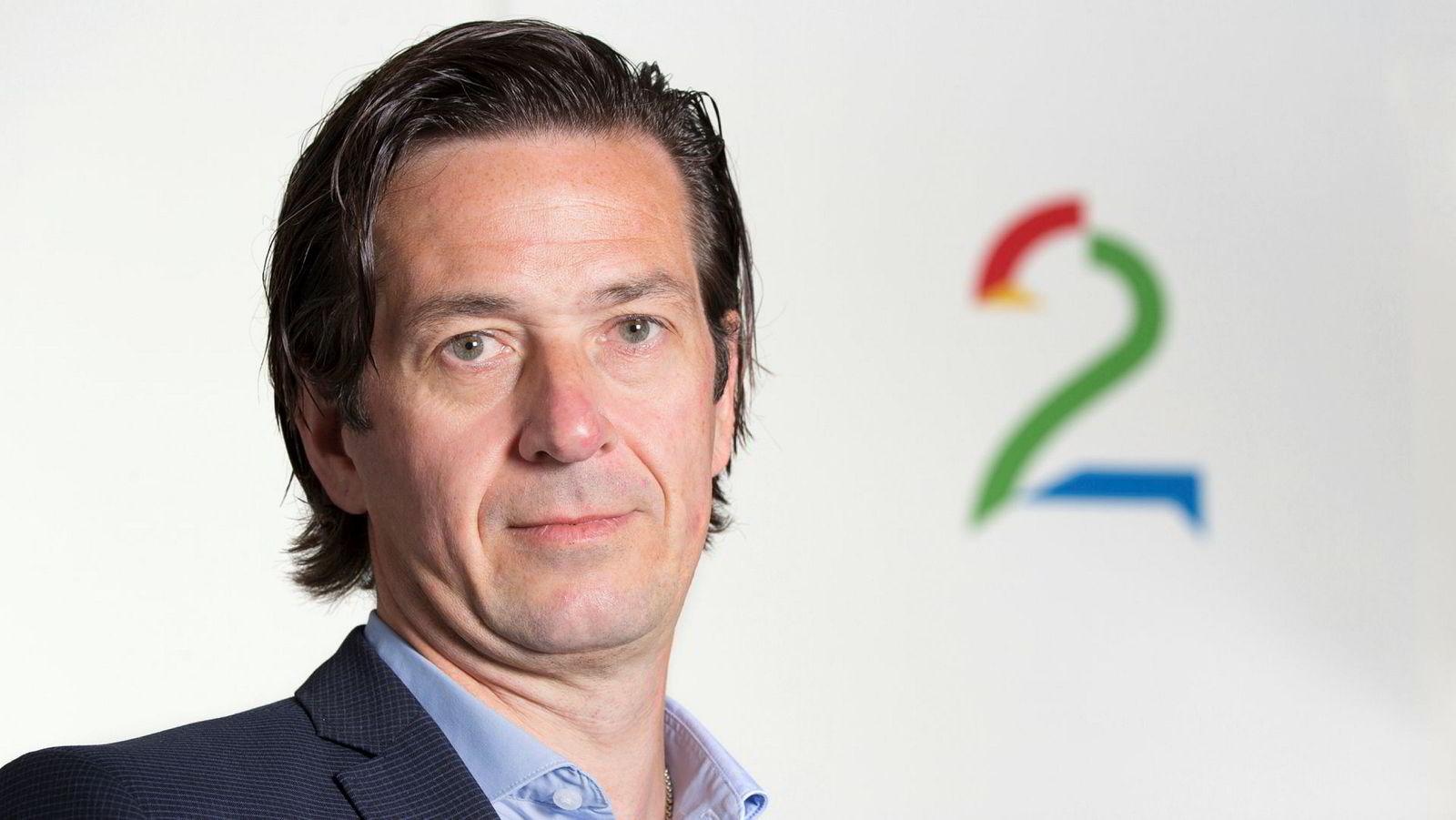 Salgs- og markedsdirektør Bjørn Gunnar Rosvoll i TV 2.