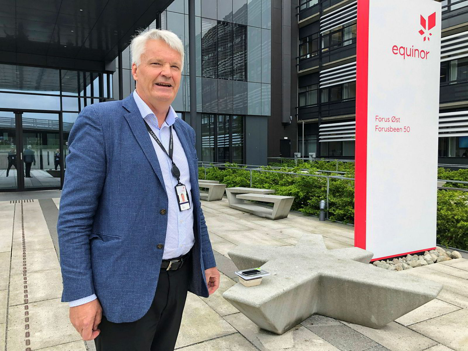 Per Haaland is Equinor's director of efficiency and equipment management. He now asks the platform industry to create a completely new, automated and lighter equipment with half the team.