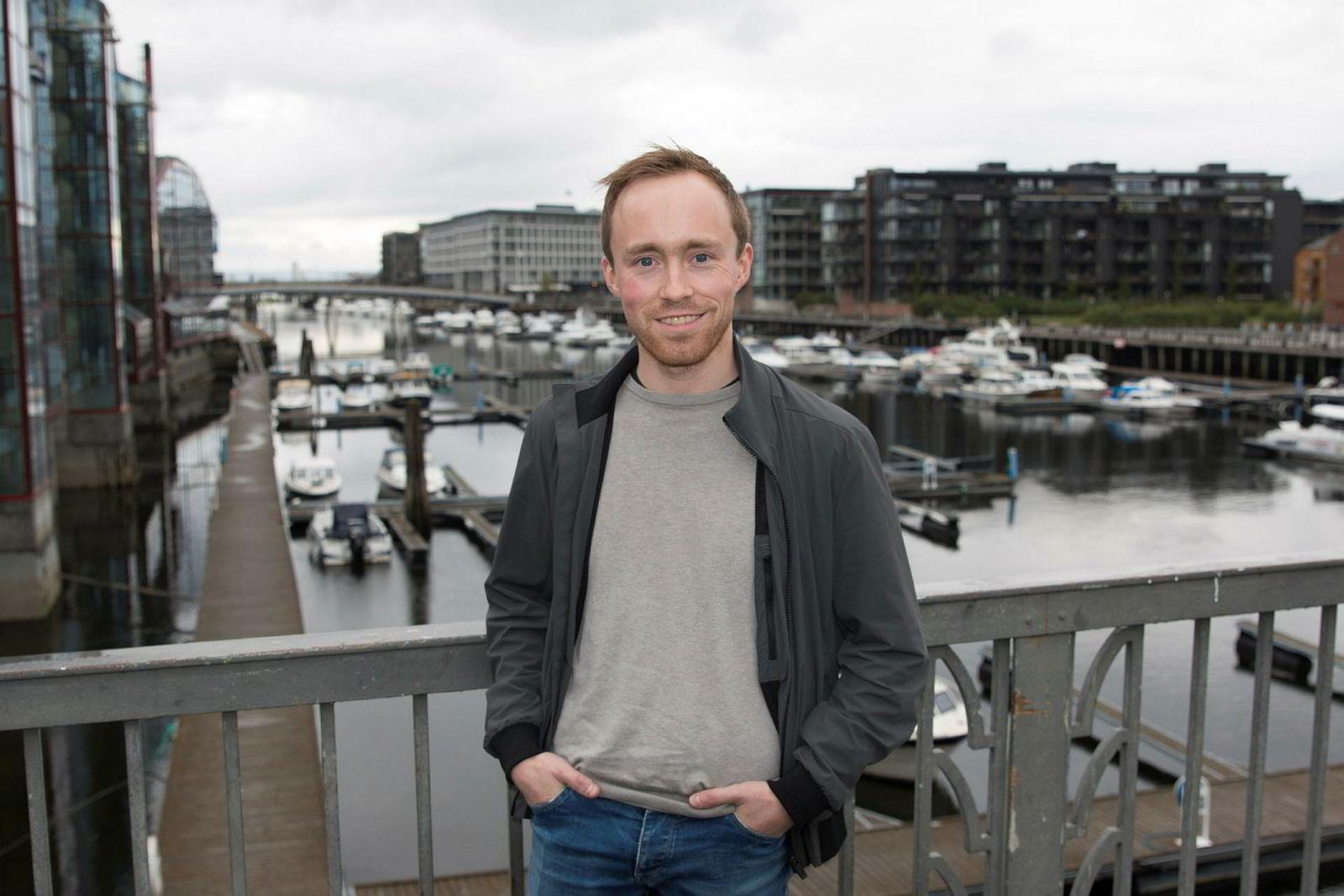 Forsker Patrick Sørdahl i Nofima har undersøkt omfanget av norsk fiskerikriminalitet. Tirsdag presenterte han resultatet på fiskerikonferansen Norfishing i Trondheim.