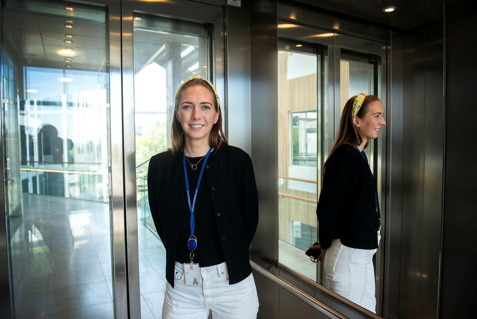 Marthe Øksnes (29) fikk ny jobb via LinkedIn.