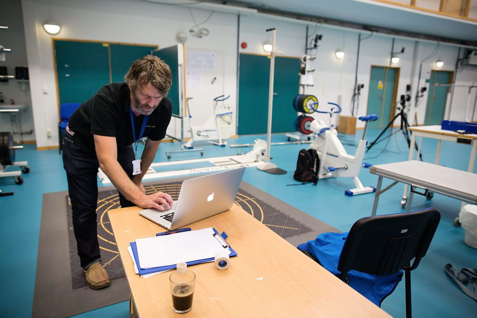 NY METODE. Ola Eriksrud har jobbet med fysisk testing av utøvere både ved Idrettshøyskolen og Olympiatoppen i en årrekke. Nå har han utviklet et helt ny testmetode. Foto: