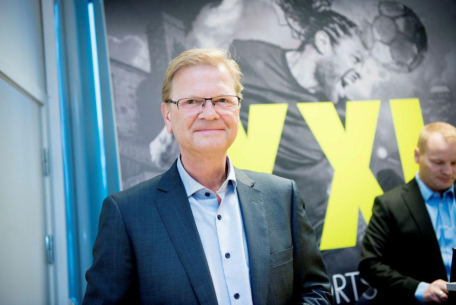 Fredrik Steenbuch, tidligere konsernsjef i XXL.