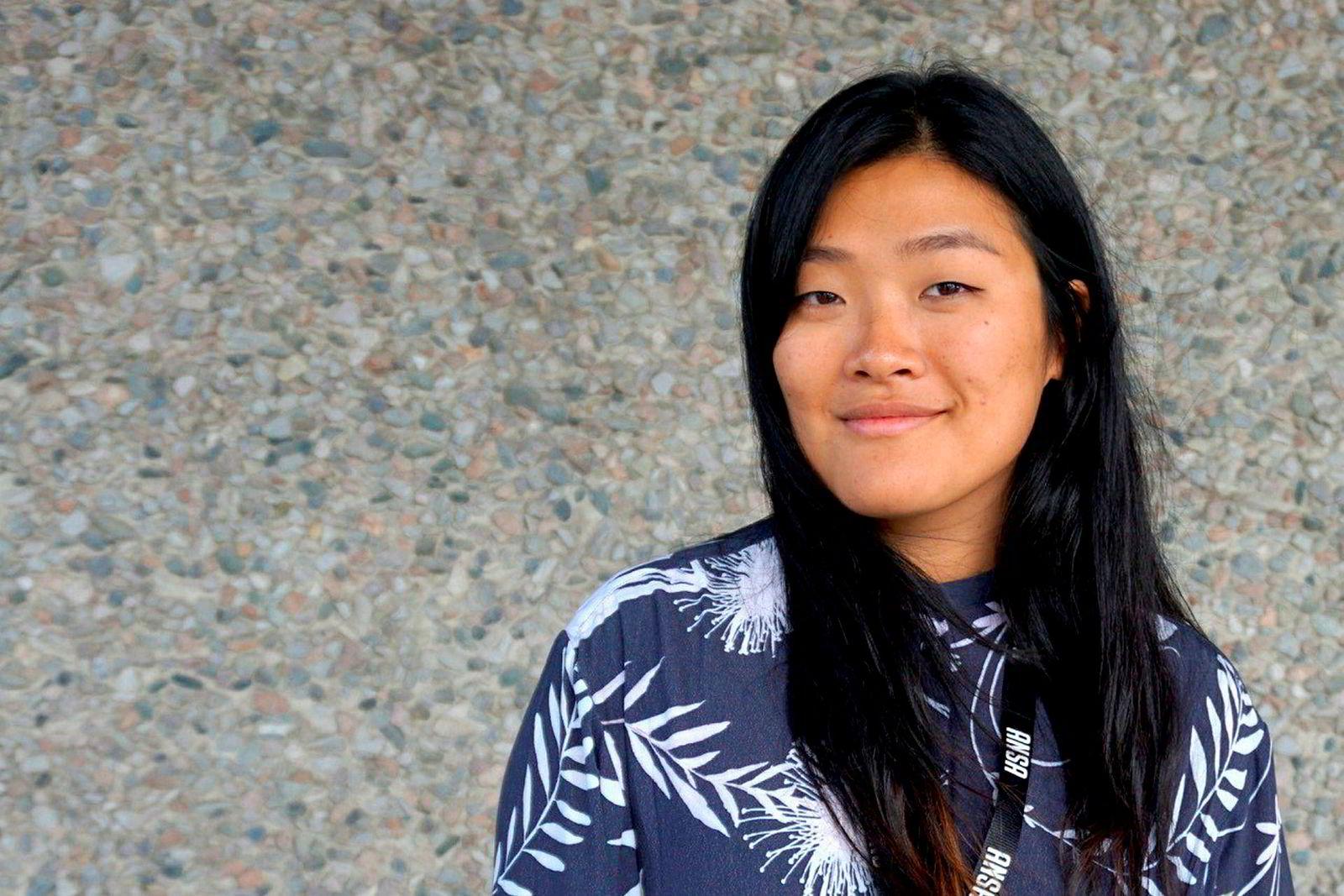Hanna Flood, president i studentenes utenlandsorganisasjon Ansa.