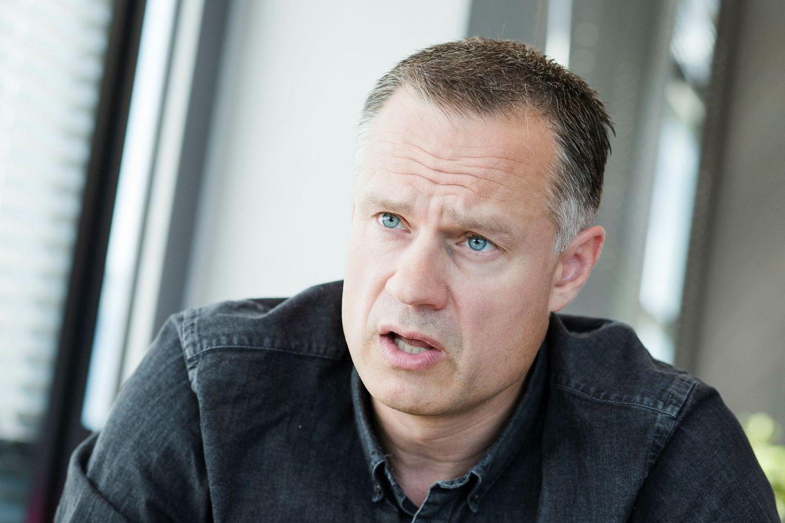 Henrik Müller-Hansen (45) grunnla Gelato som 34-åring, i 2007. Selskapet har hovedkontorer på Fornebu.