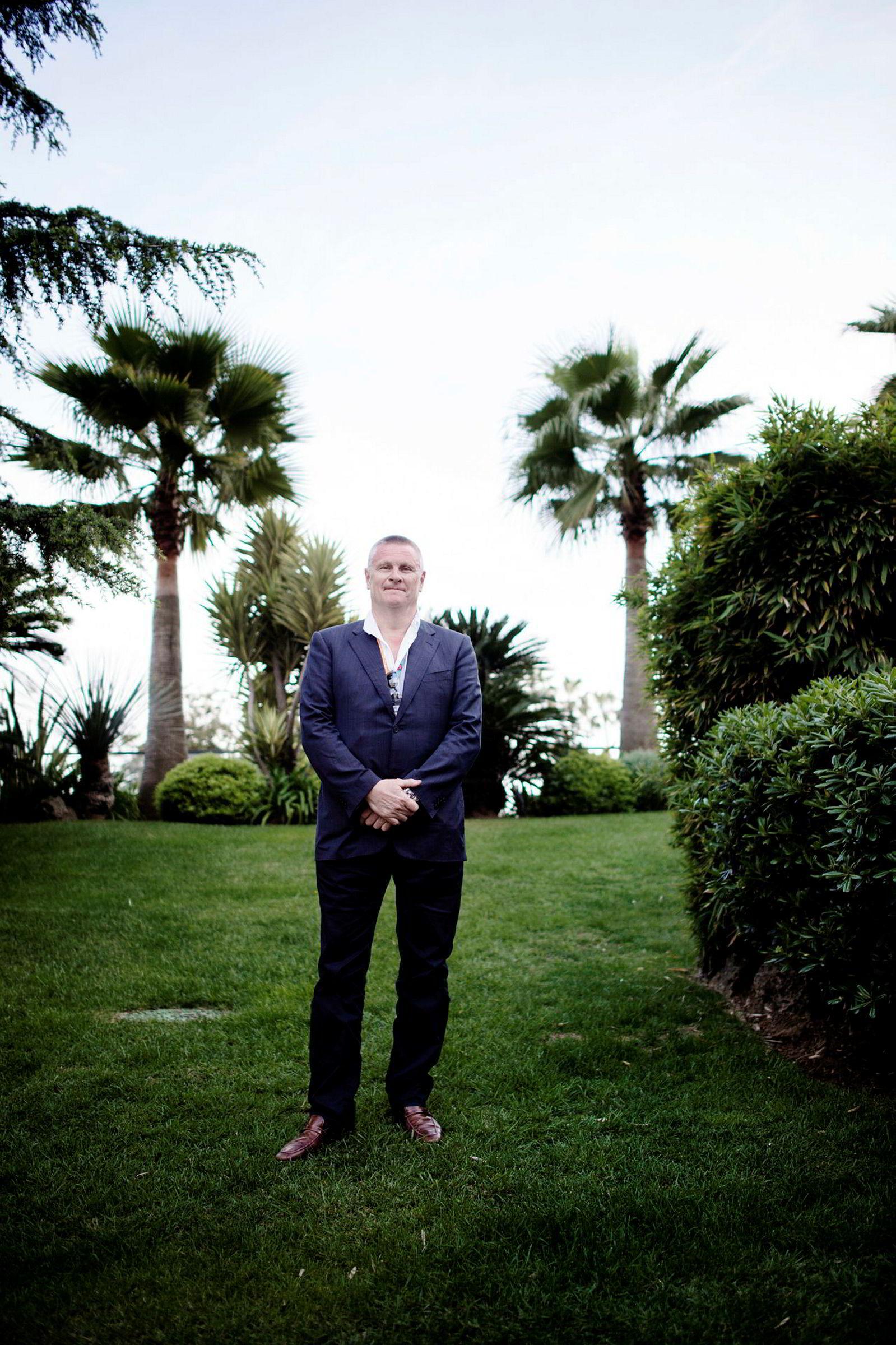 Administrerende direktør Lasse Hallberg i Feelgood og Monday Production.