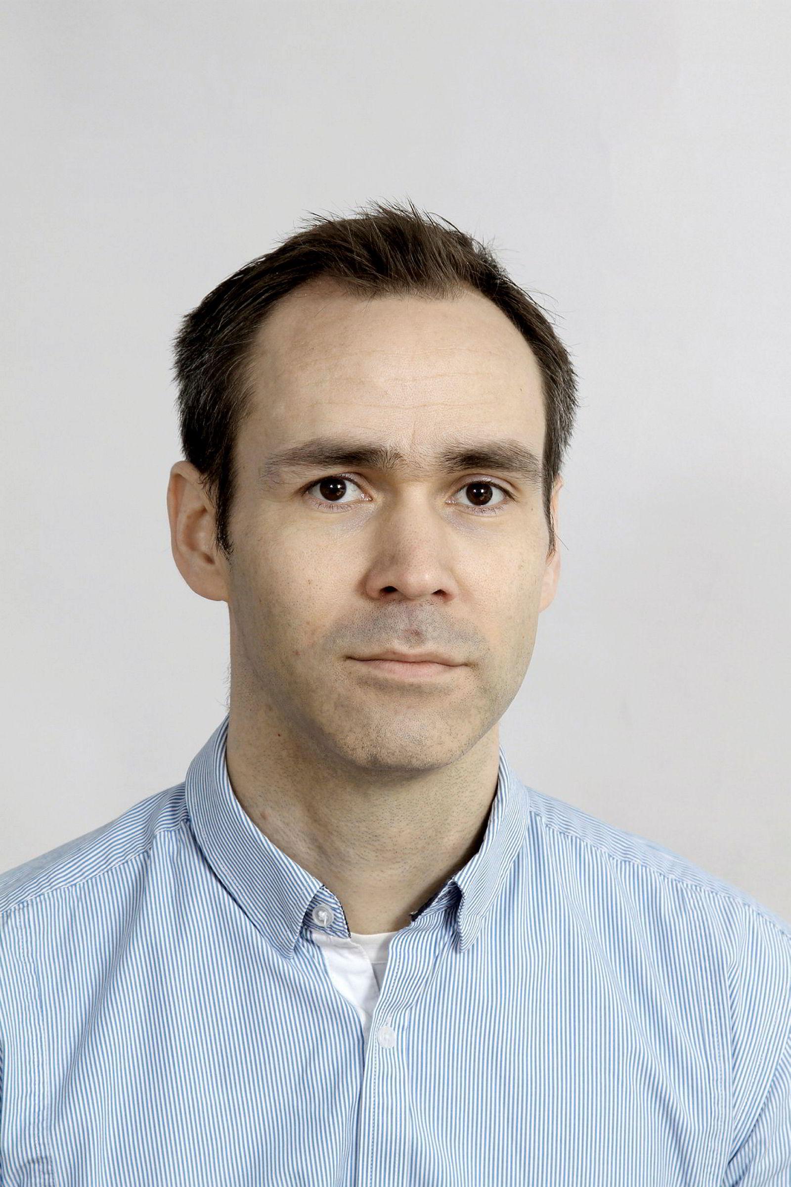 Vegard Sævik, styreleder i Fjord1