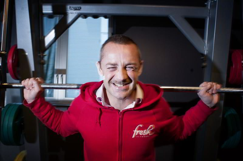 Administrerende direktør Paal Hansem i treningssenterkjeden Fresh Fitness.