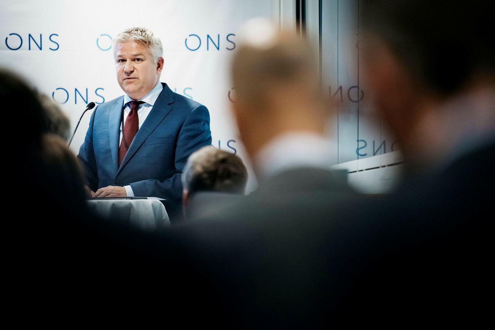 Pål Eitrheim, konserndirektør for Nye Energiløsninger i Equinor.