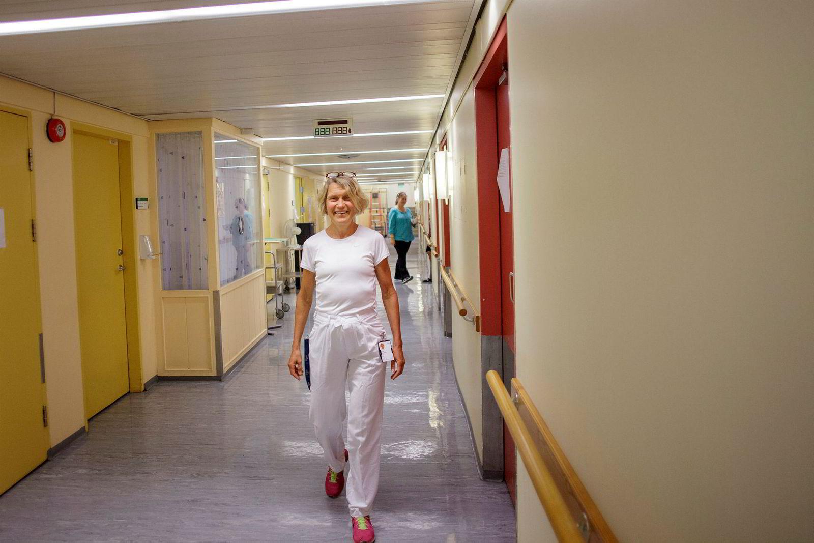 Ernæringsfysiolog Mette Svendsen ved seksjon for preventiv kardiologi, ved Oslo universitetssykehus.