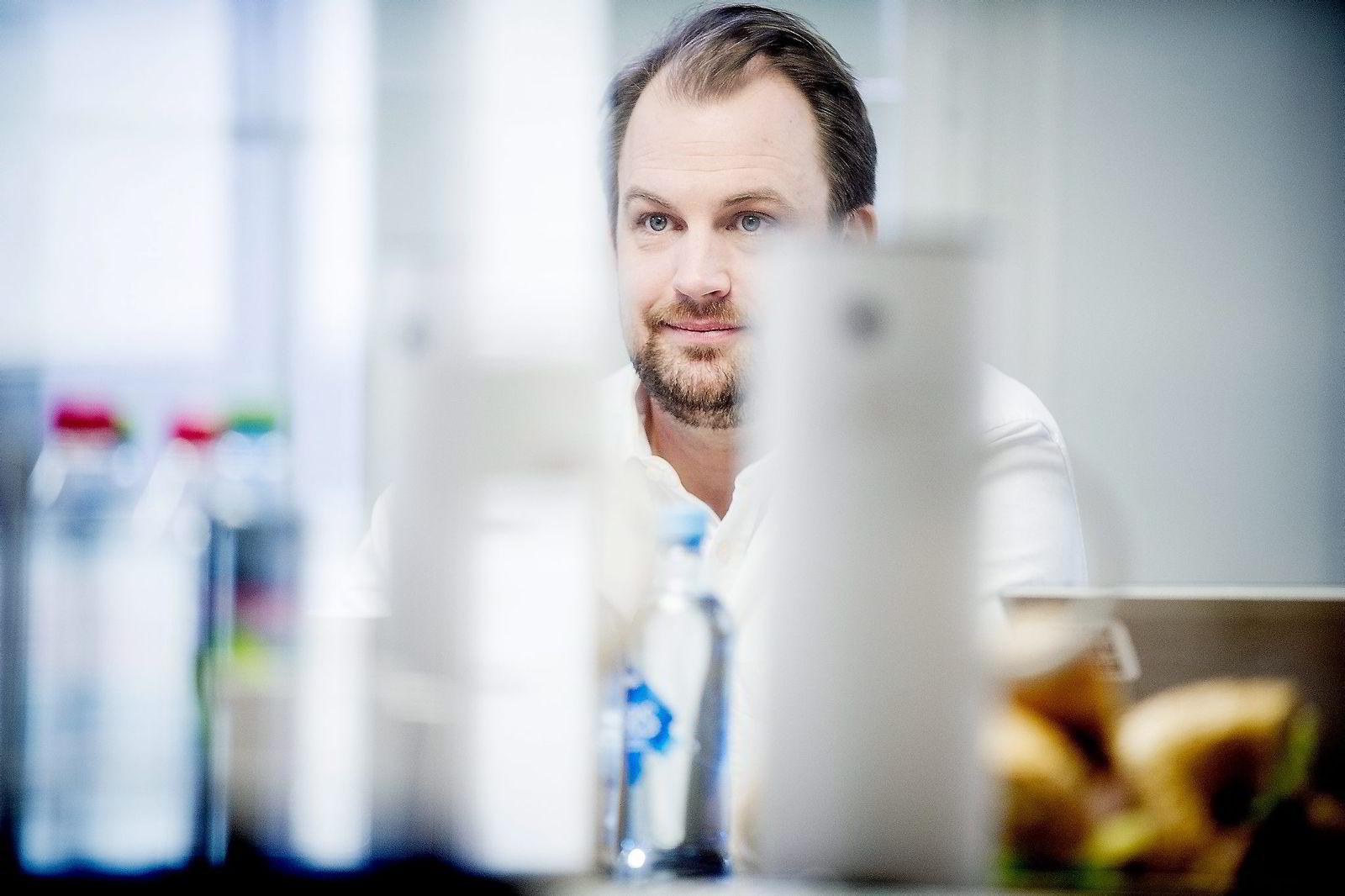 – Vi forventer å selge like mye i år som ifjor, sa kommunikasjonsdirektør Kristian Hvilen i Mondelez Norden i april. Foto: Gorm K. Gaare