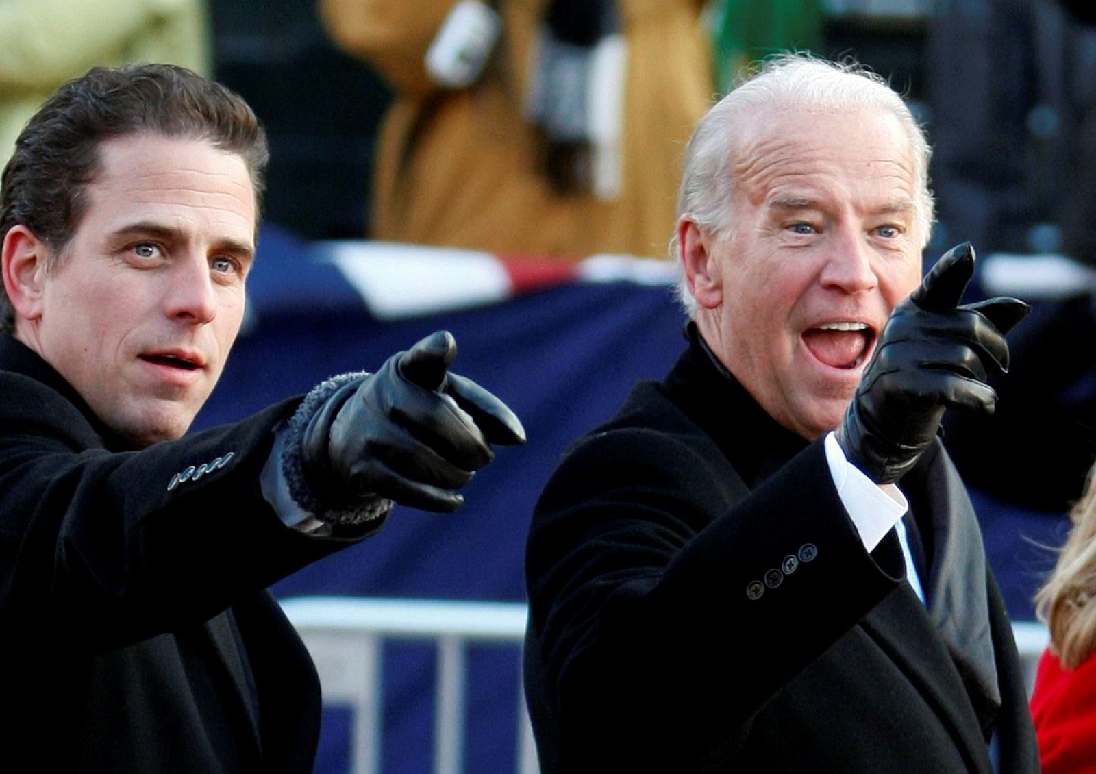 Tidligere visepresident Joe Biden og sønnen Hunter Biden var duoen som utløste riksrettssaken mot Trump.