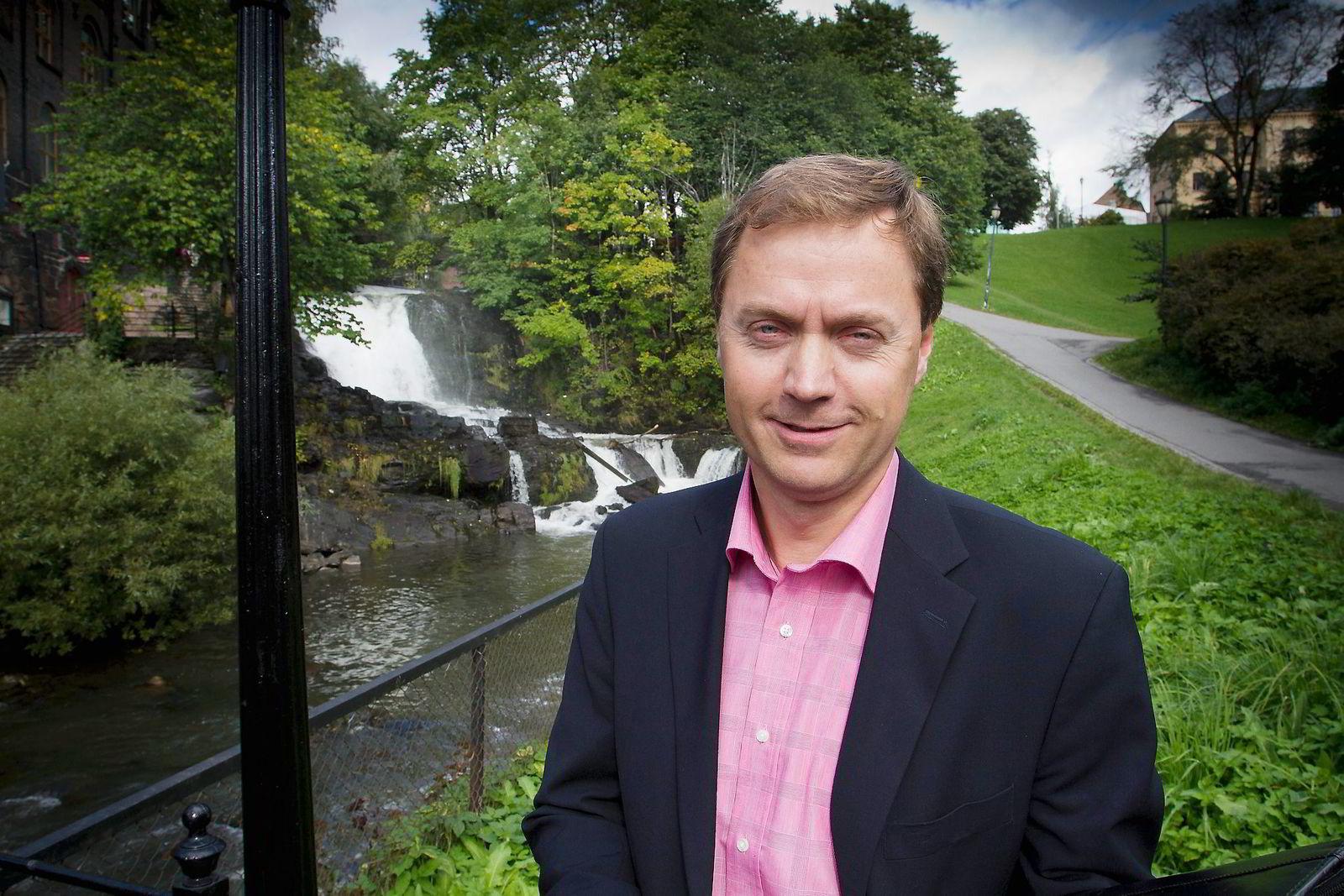 Direktør Knut Sunde i Norsk Industri.