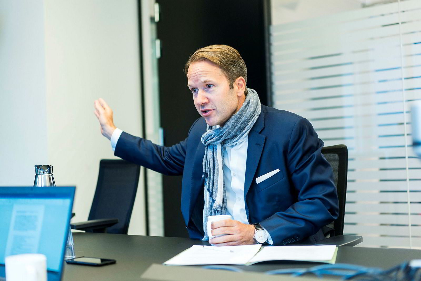 Lars Erik Grønntun forteller at hans motivasjon var å etablere noe nytt i et marked som ikke fantes.