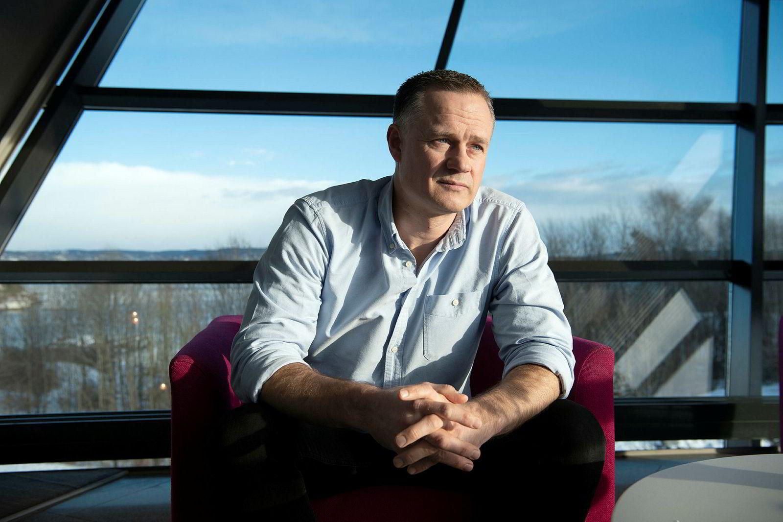 Henrik Müller-Hansen, administrerende direktør i Gelato, omsatte for 391 millioner kroner i 2018, etter en sterk sluttspurt.