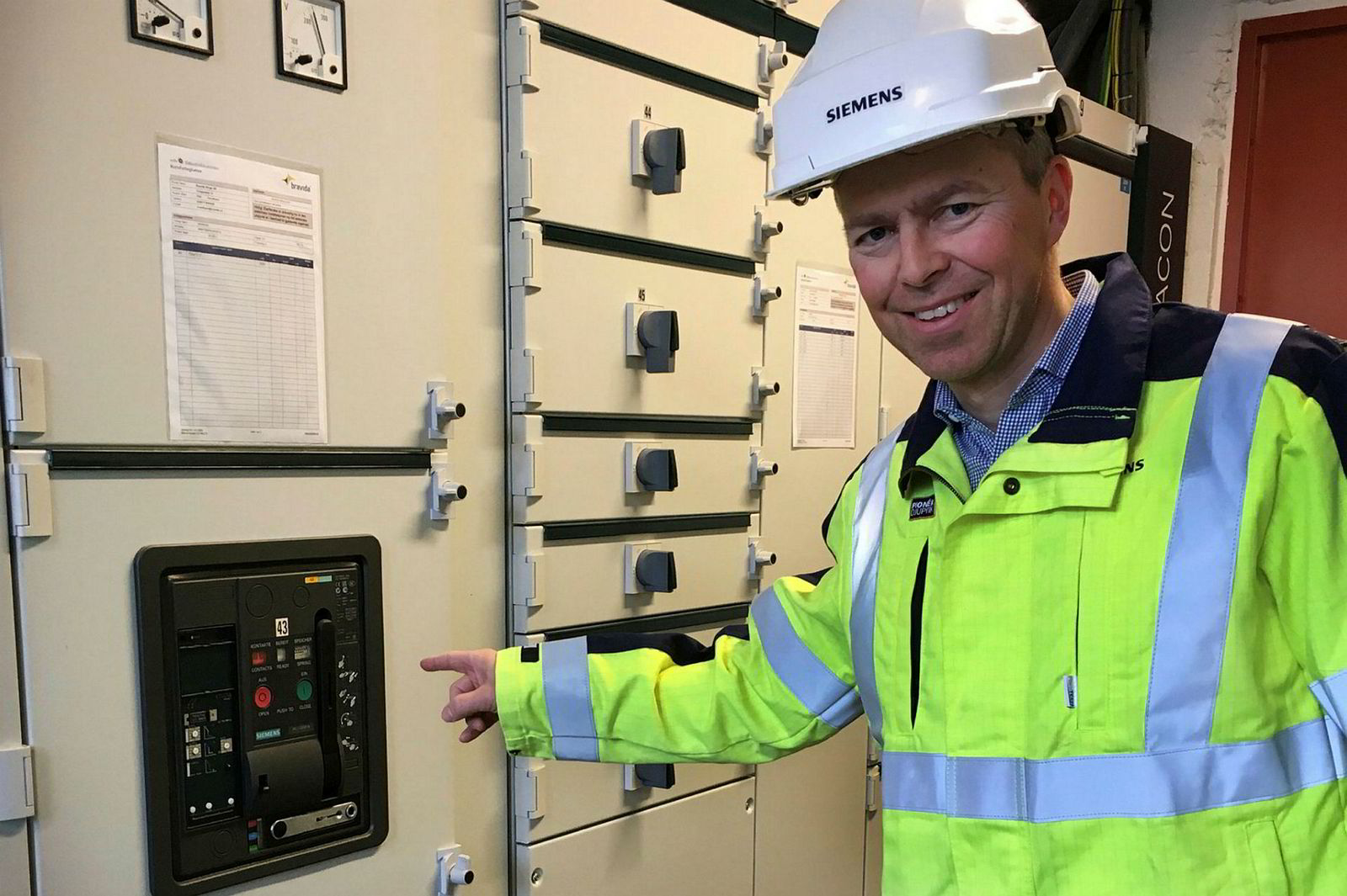 Andreas Lien i Siemens mener vi kan bruke strømnettet smartere.