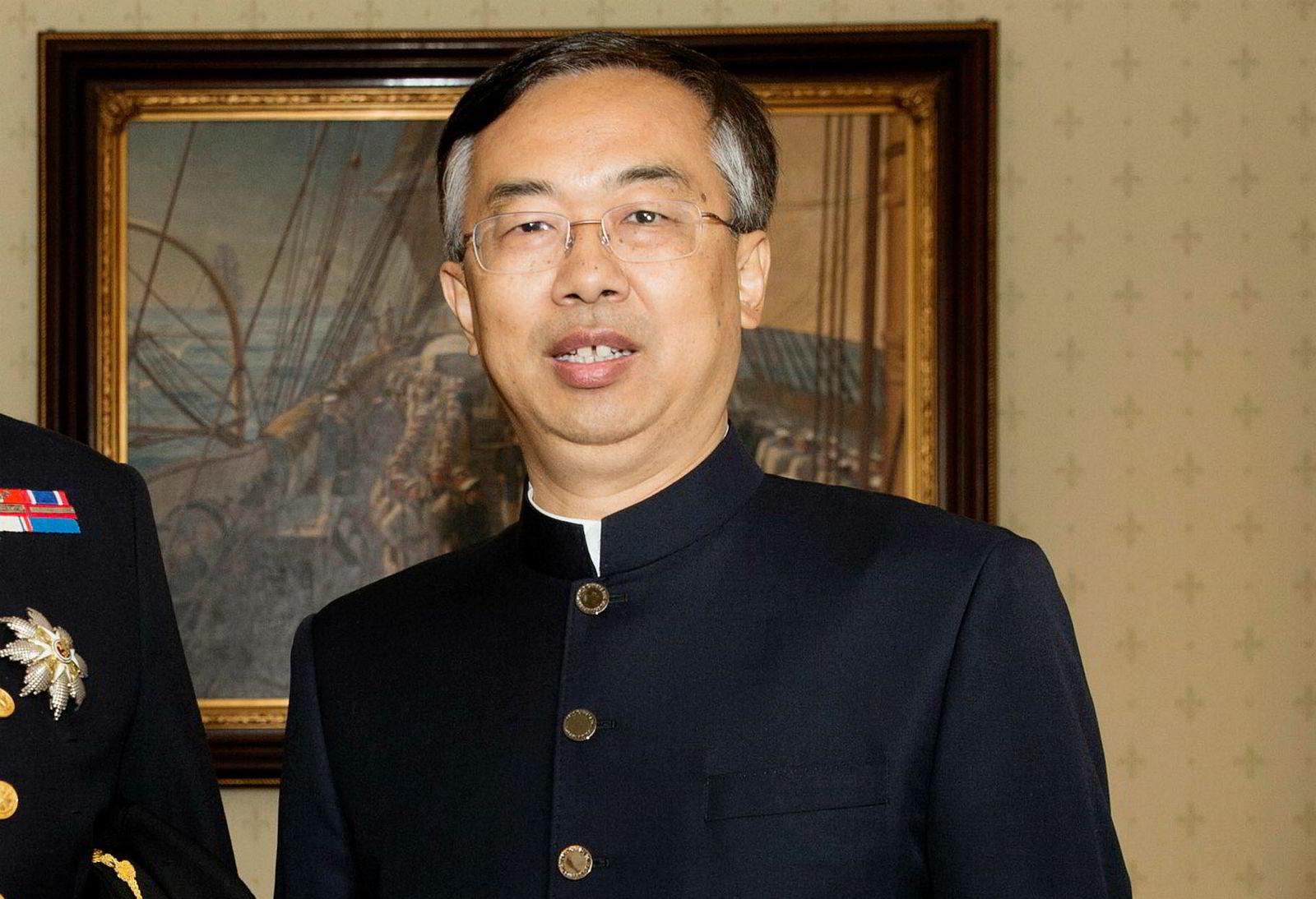Kinas ambassadør til Norge, Wang Min, skal ha spilt en nøkkelrolle i å få løst konflikten.