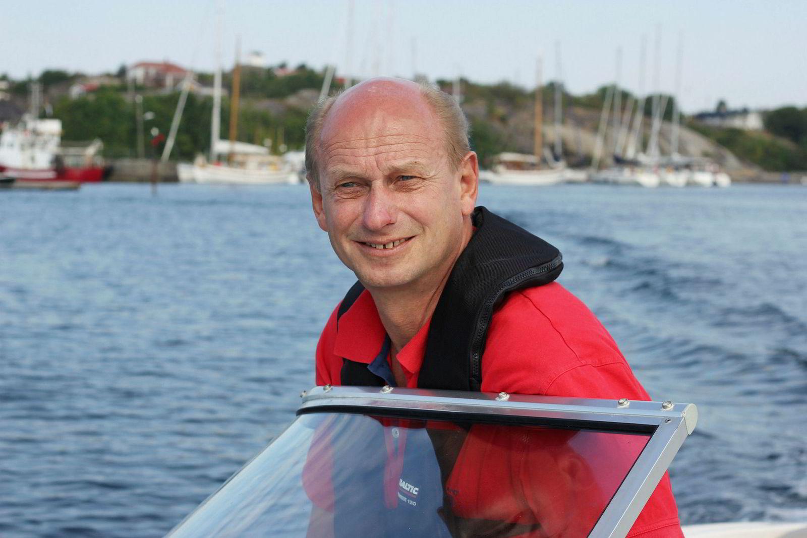 Tore Solberg i Eiendomsmegler 1 solgte denne uken en Nøtterøy-hytte til 15,8 millioner kroner.