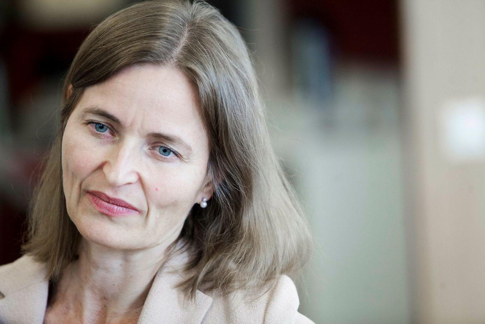Styreleder Catharina Hellerud ved Oslo Børs VPS.