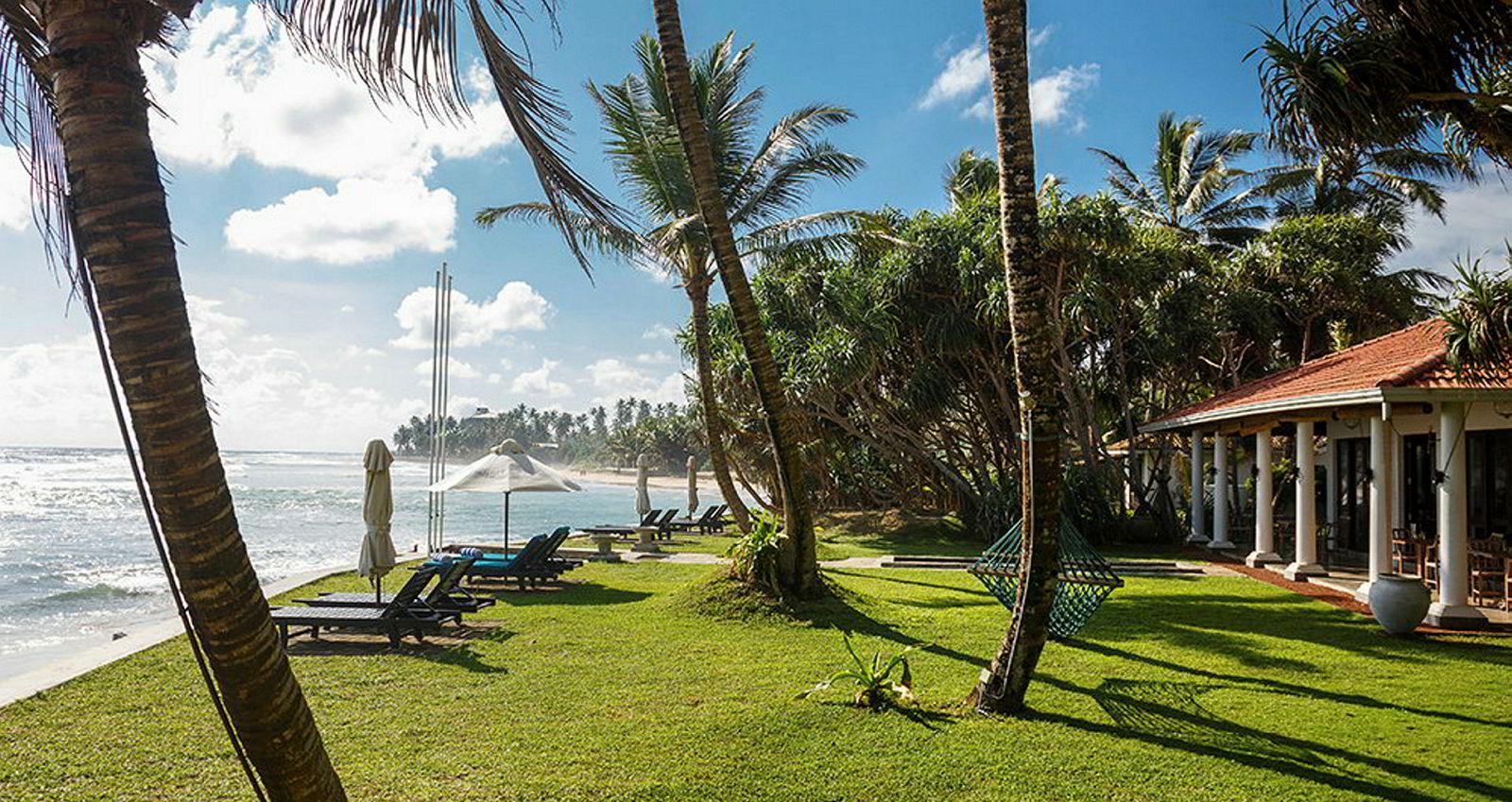 Mosvold Villa er ett av de tre hotellene Kurt Mosvold har bygget på Sri Lanka. Alle hotellene ligger i den kjente kystregionen Galle.