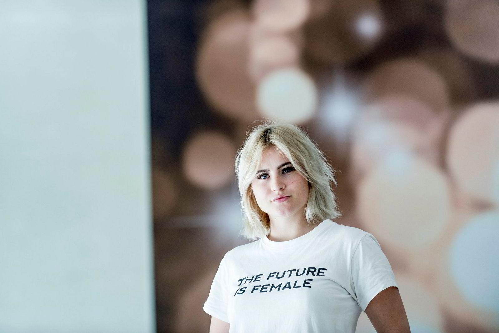 Ferd-arving Katharina Andresen ønsker å få bred jobberfaring før hun går inn i familieselskapet.