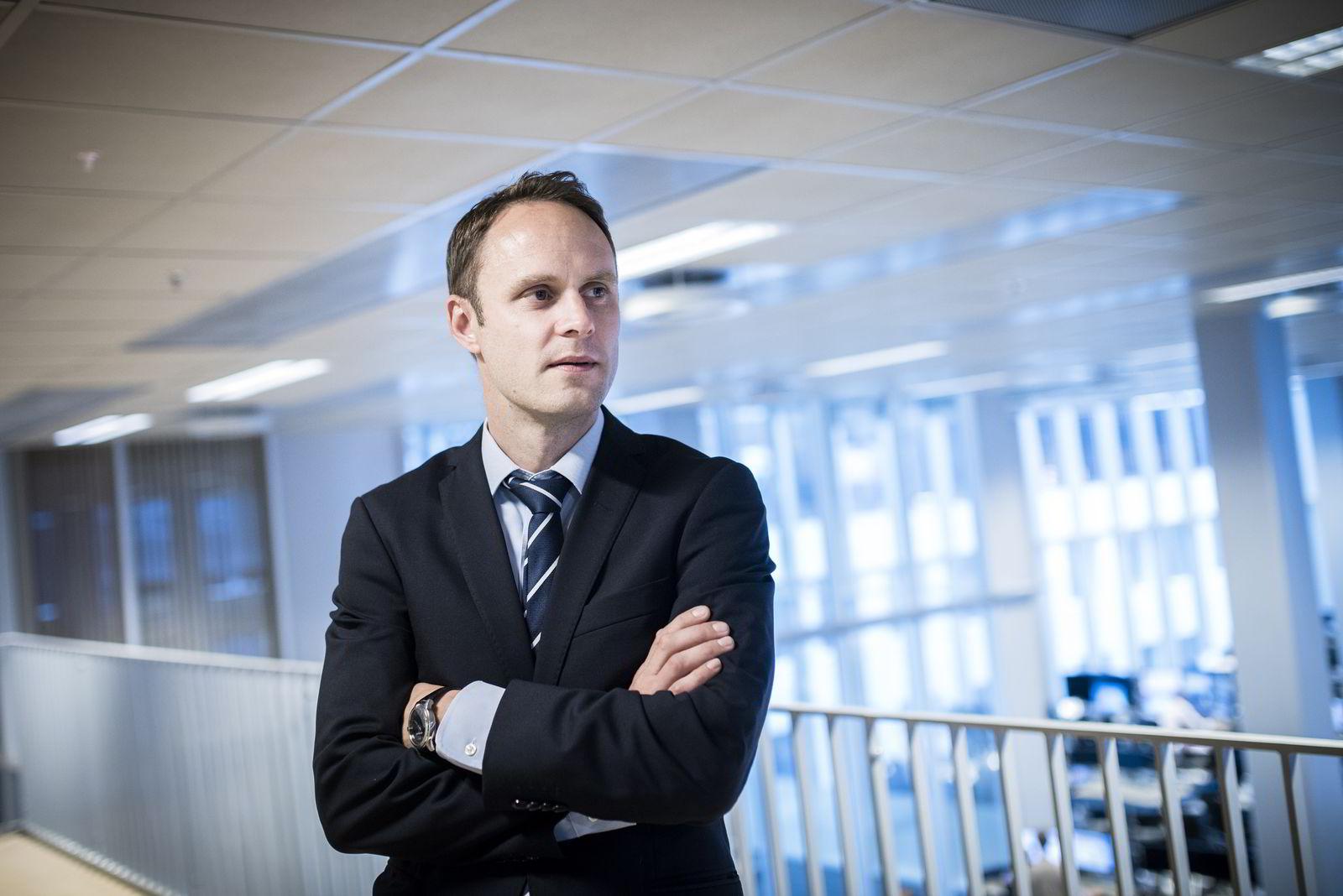 Valutaanalytiker Magne Østnor i DNB Markets.