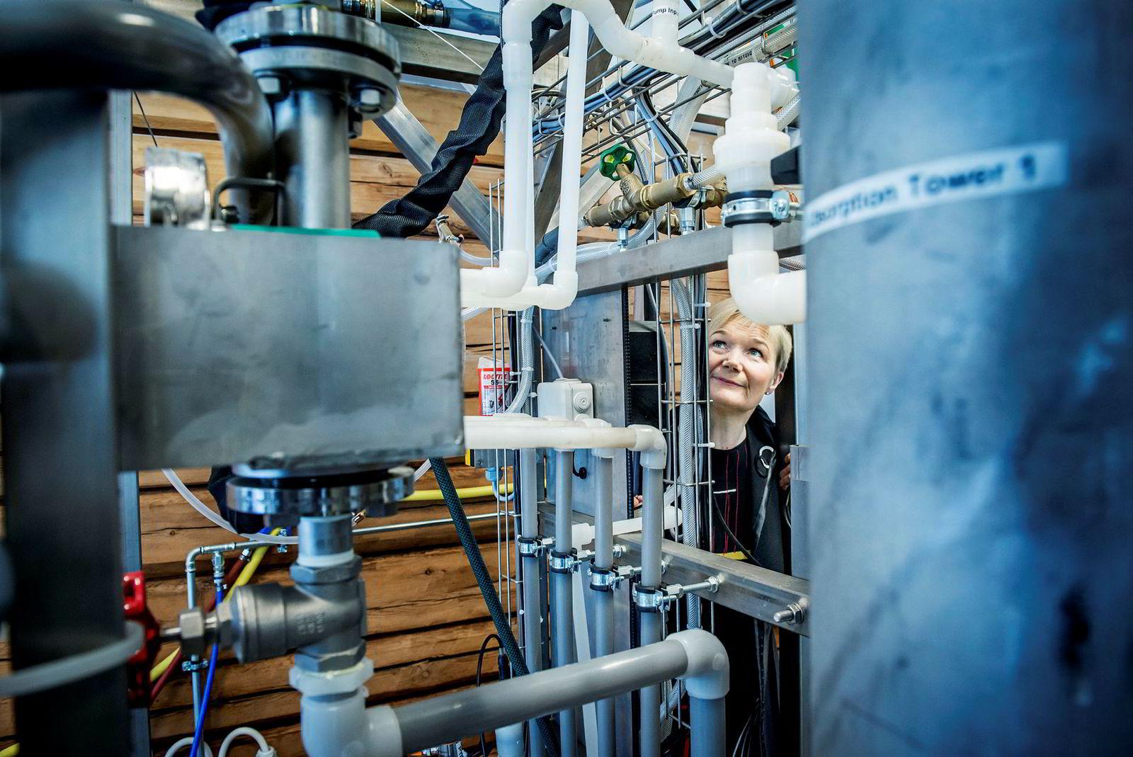 Sønsteby og Ingels har allerede en av disse plasmareaktorene plassert hos en grisebonde i Danmark som når våronna starter i vår skal gjøre om noe av møkka fra 95.000 griser til gjødsel. Luktfritt.