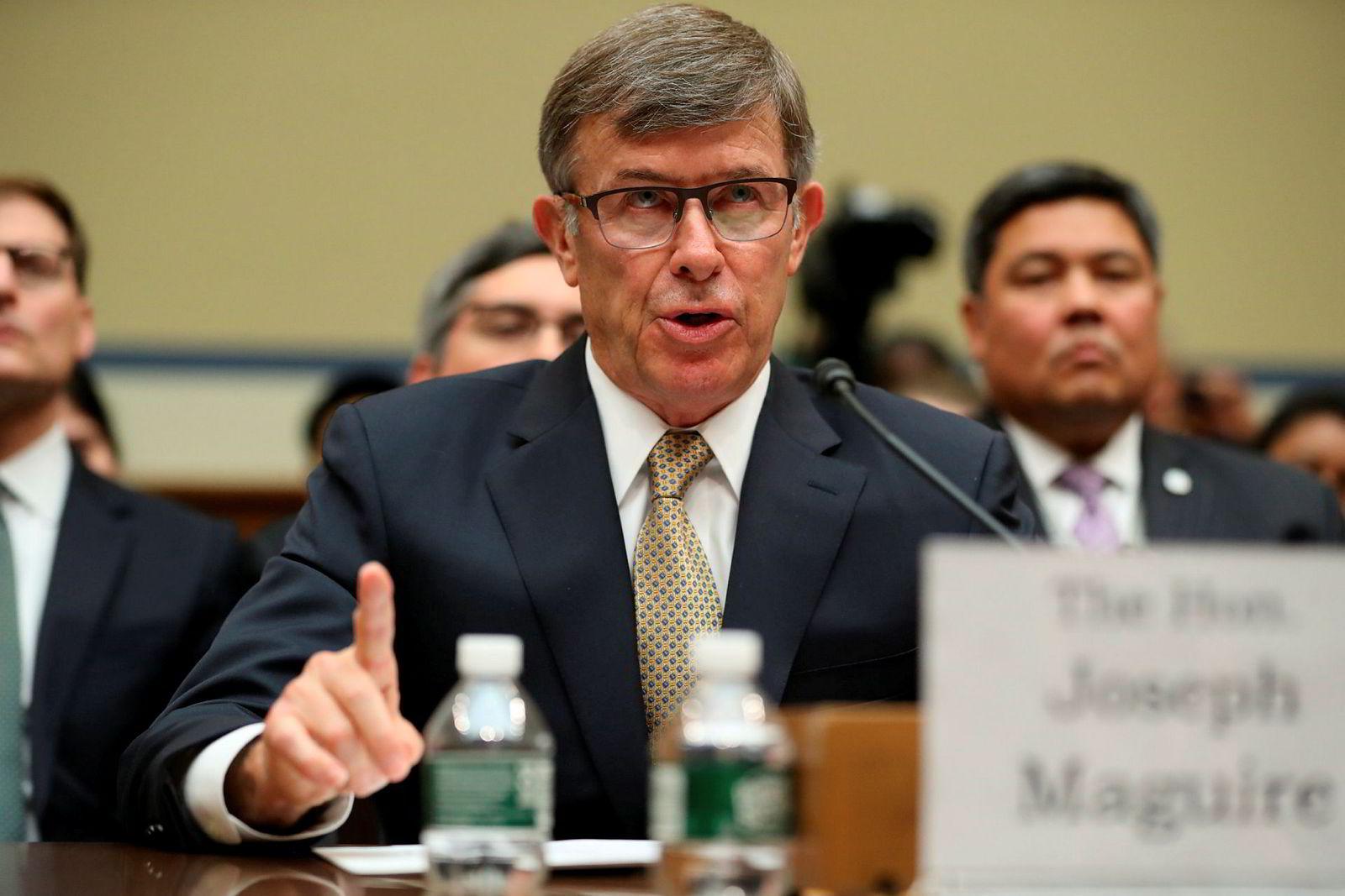 Fungerende direktør for National Intelligence, Joseph Maguire.