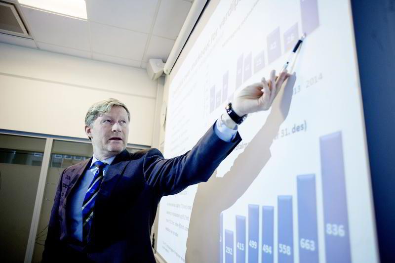Administrerende direktør Lasse Ruud i Verdipapirfondenes Forening (VFF). FOTO: Mikaela Berg