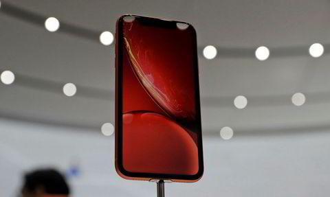 iPhone XR kommer i friskere farger enn XS-modellene.