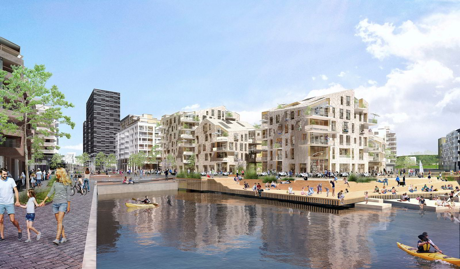 Så langt er det solgt totalt 31 leiligheter for 298,5 millioner kroner av boligprosjektet Vannkunsten.