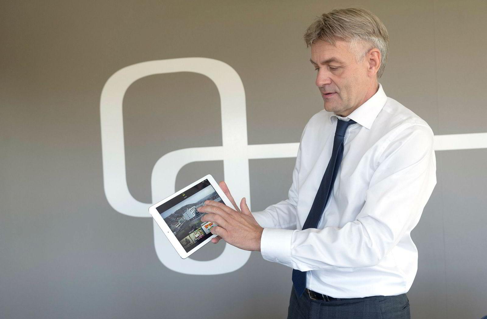 – Avtalen med Telia er langsiktig noe som trigger oss til å bygge ut nettet videre, sier administrerende direktør Gunnar Evensen i TDC Norge.