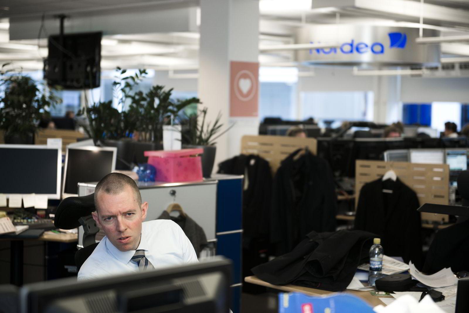 Sjefanalytiker Ole Håkon Eek-Nielsen.