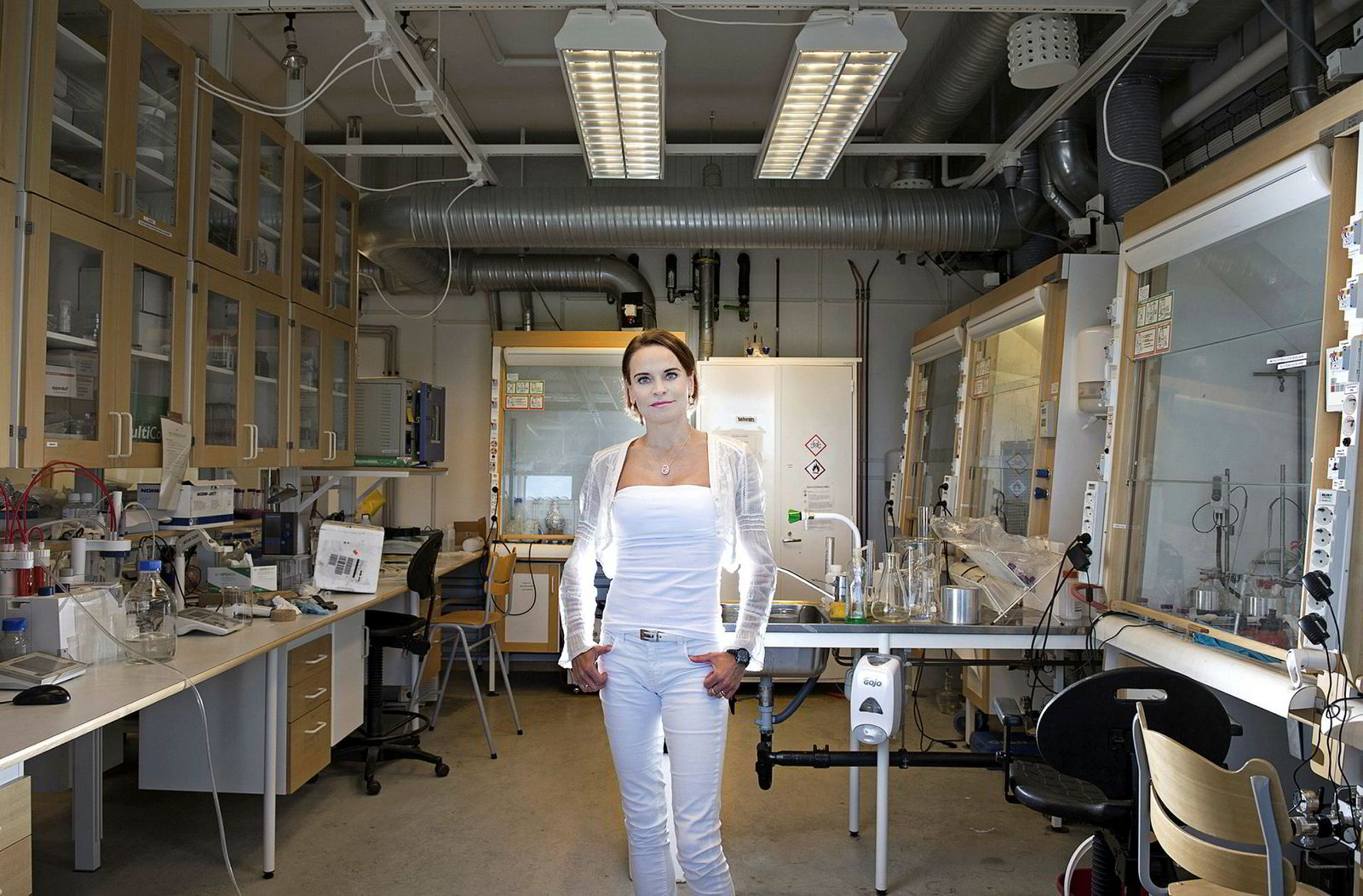 Maria Strømme er professoren i nanoteknikk ved Uppsala universitet, og kan vise til cirka 30 patenter, nærmere 300 publiserte forskningsartikler internasjonalt og fem oppstartselskaper.