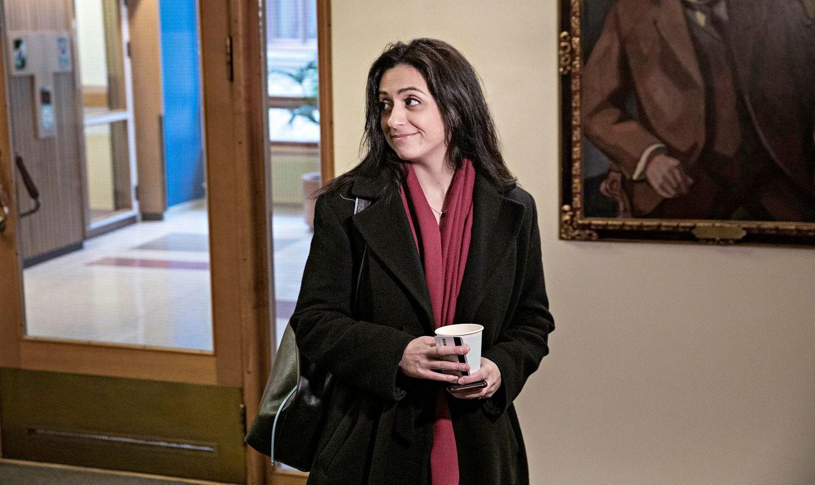 Hadia Tajik sier opposisjonen er klar for forhandlinger i helgen.