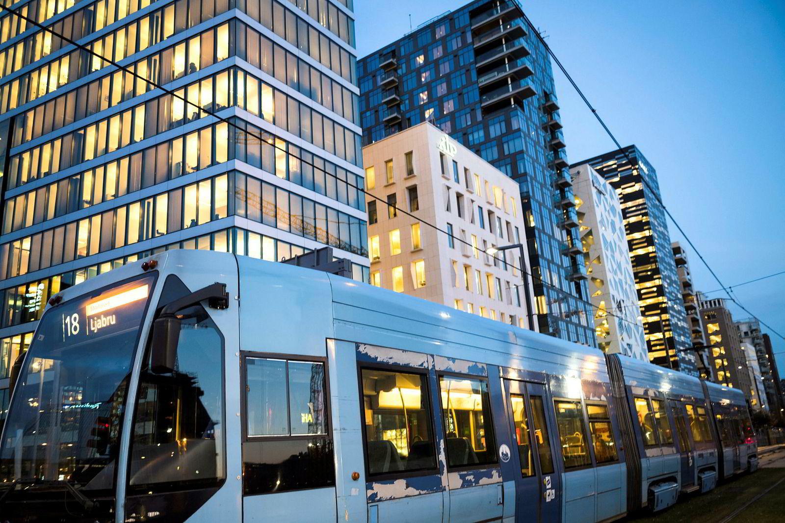 Under Barcode-rekken i Oslo ligger en kjeller på 70.500 kvadratmeter over tre etasjer.