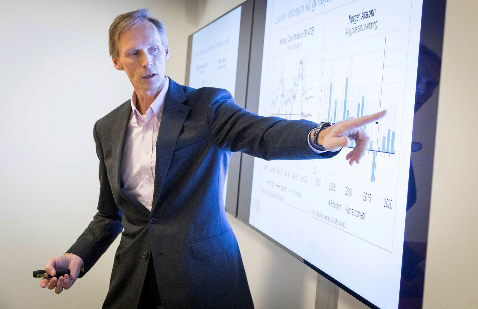 Seniorøkonom Kyrre Aamdal. DNB Markets.