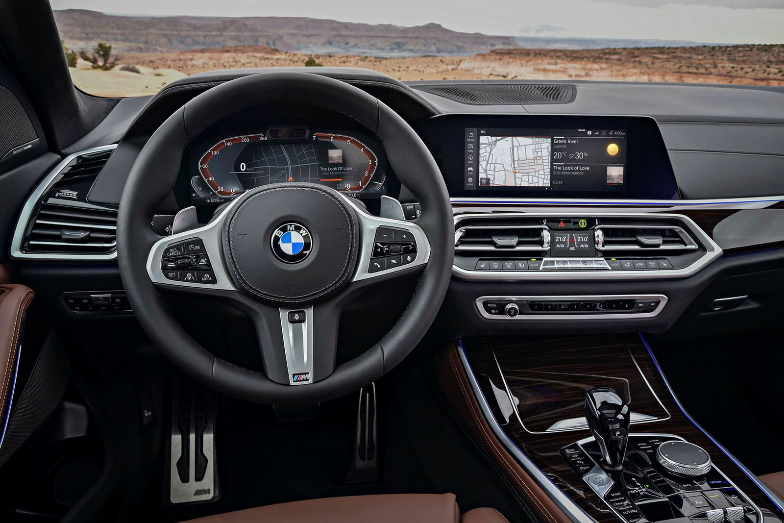 Nå får også BMW digitale display som kan endres etter eget ønske.