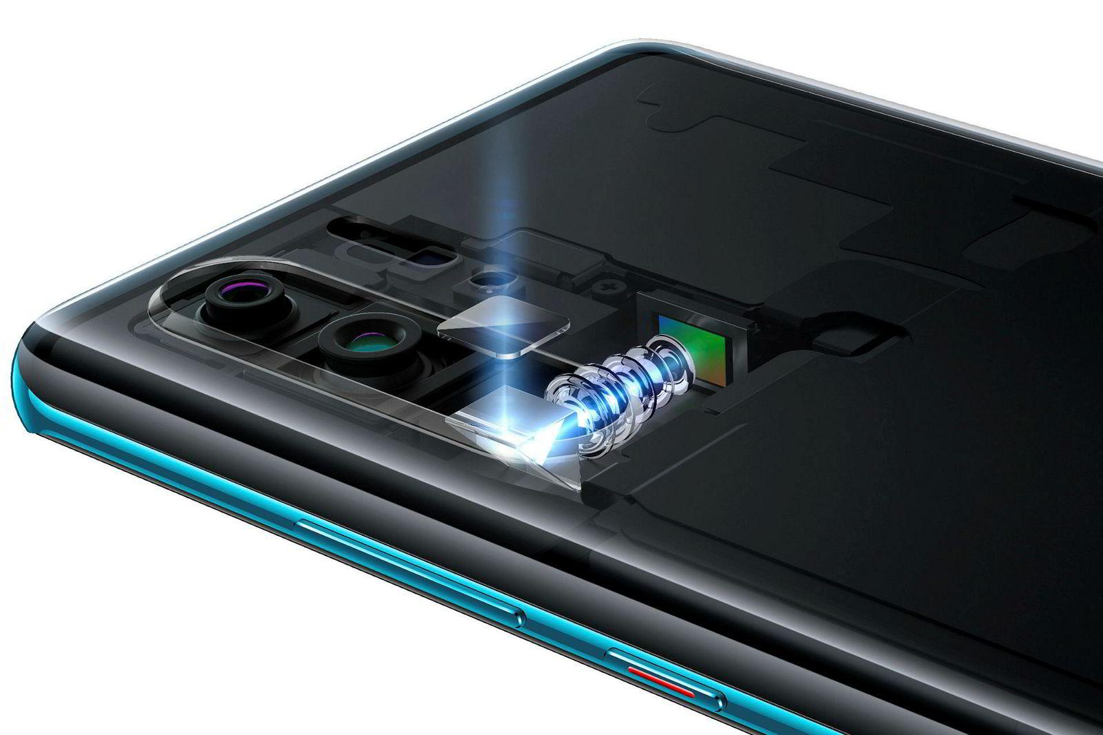 Slik har Huawei klart å klemme et kamera med 5x optisk zoom inn i en flat P30 Pro.