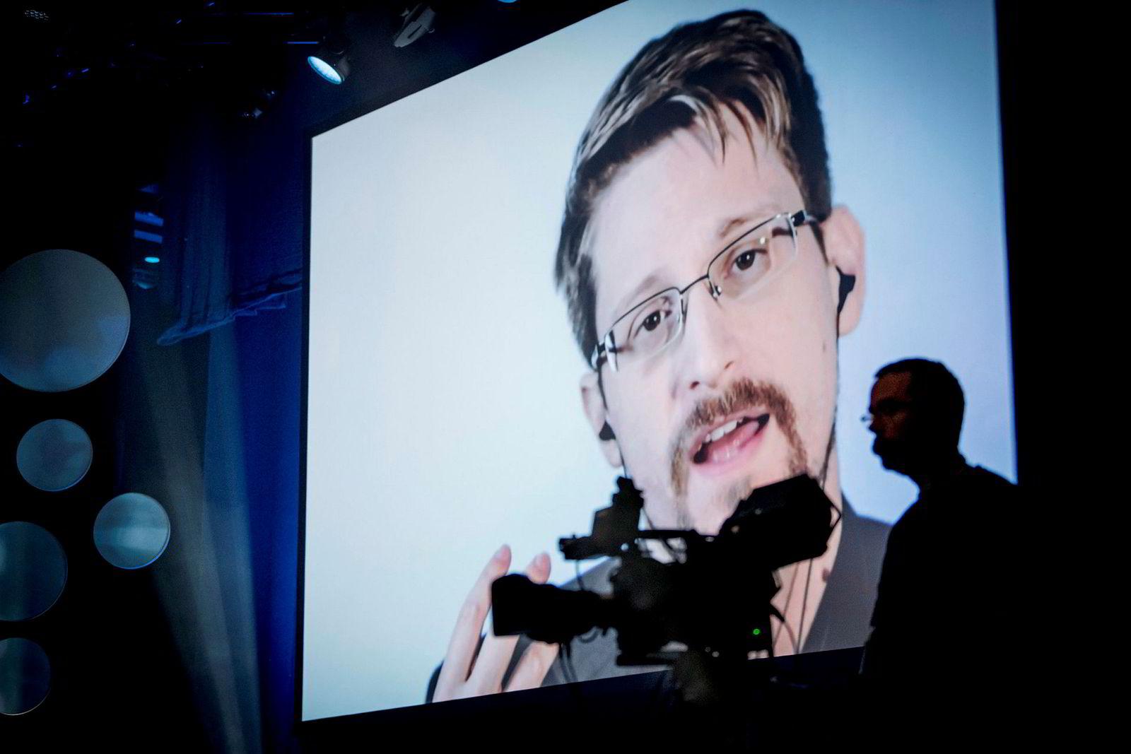 Gjennom videolink fra Moskva snakket Edward Snowden under vitenskapsfestivalen «Big Challenge Science Festival» i Trondheim.