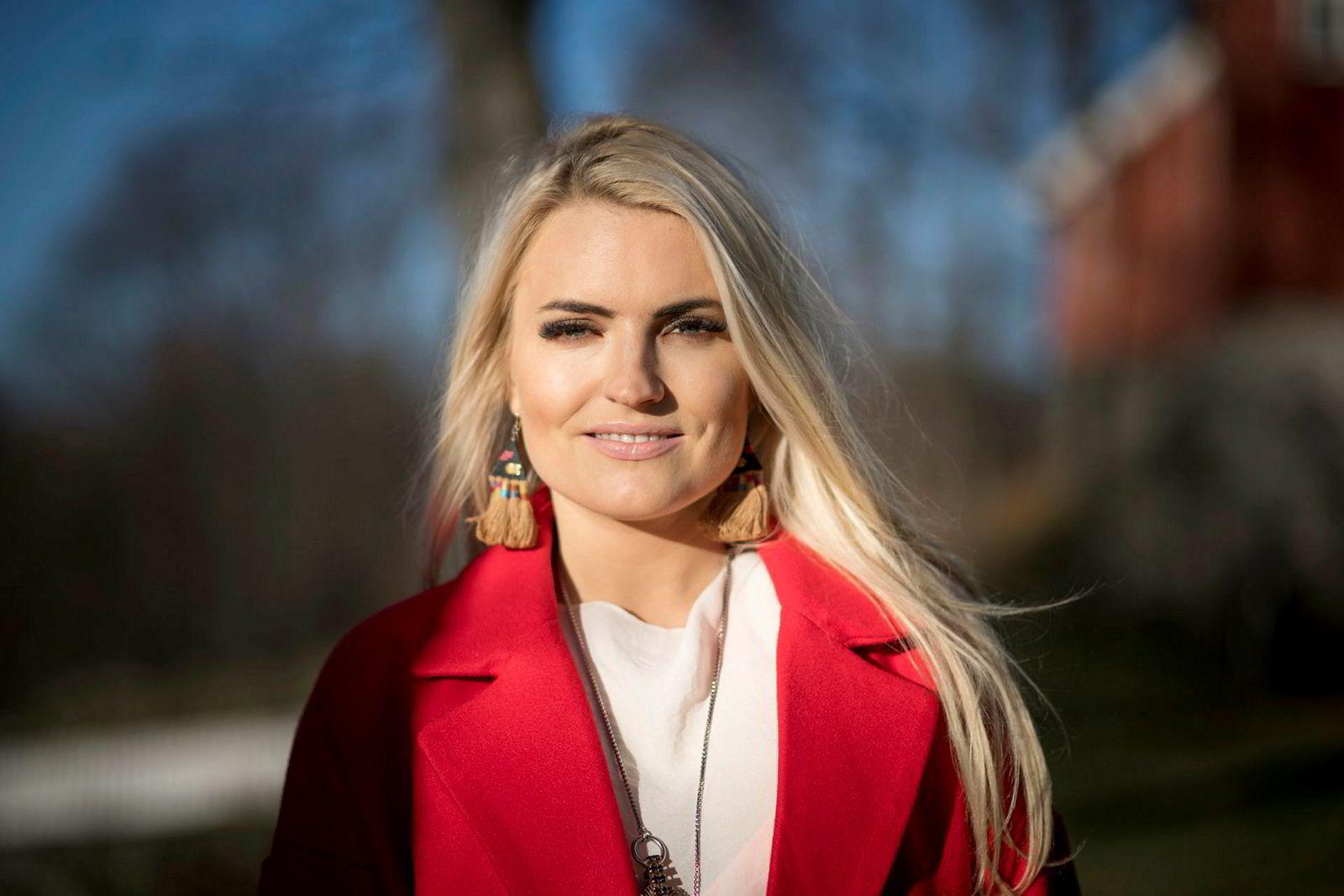 Isabelle Ringnes er en av kvinnene bak kampanjen #Hunspanderer, og blant dem som jobber aktivt for å fremme likestilling i næringslivet.
