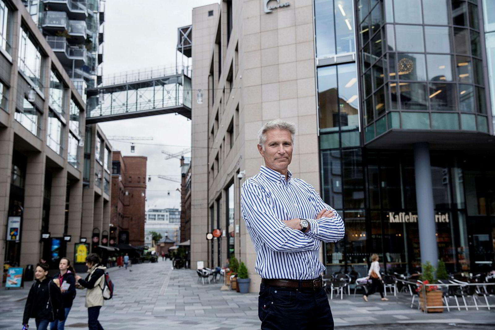 Sindre Støer er leder i Verdipapirforetakenes Forbund, der norske meglerhus er medlemmer.
