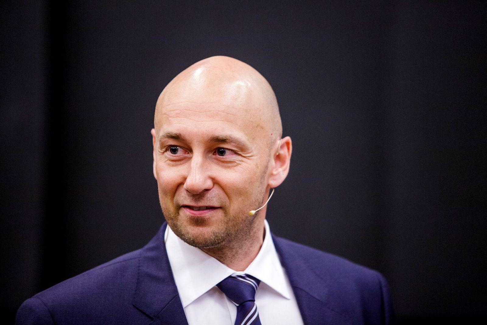 Oljeanalytiker Helge André Martinsen, DNB Markets.